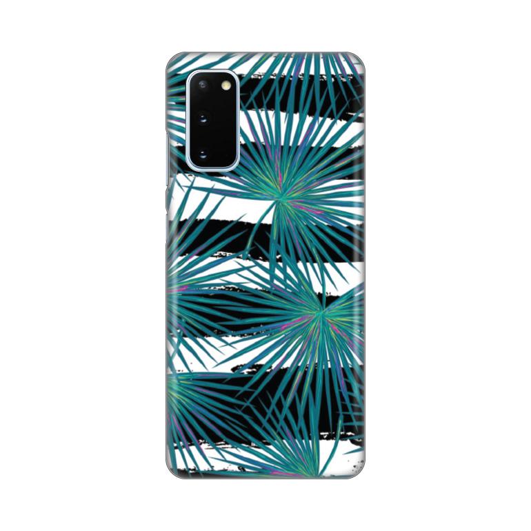 Maska Silikonska Print za Samsung G980F Galaxy S20 Exotic Leaves