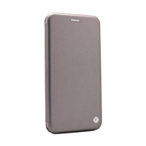 Maska Teracell Flip Cover za Motorola G8 Power Lite srebrna