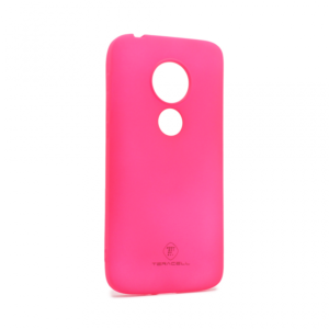 Maska Teracell Giulietta za Motorola Moto E5 Play mat pink