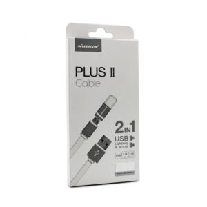Data kabl Nillkin Plus II za iPhone 5/iPhone 6/6S/micro USB beli 1,2 m