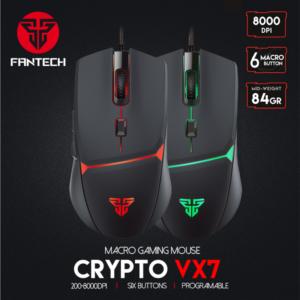 Mis Gaming Fantech VX7 crni
