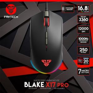 Mis Gaming Fantech X17 PRO Blake crni