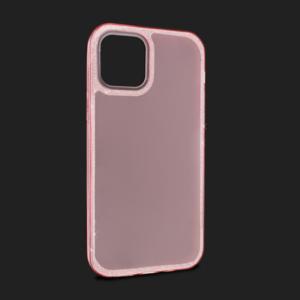 Maska Crystal Cut za iPhone 12 Max/12 Pro 6.1 roze