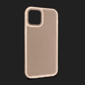 Maska Crystal Cut za iPhone 12 Max/12 Pro 6.1 zlatna