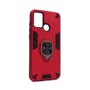Maska Cube Ring za Huawei Honor 9A crvena