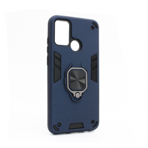 Maska Cube Ring za Huawei Honor 9A tamno plava