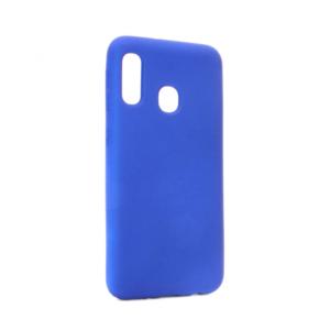 Maska Nano Silikon za Samsung A202F Galaxy A20e tamno plava