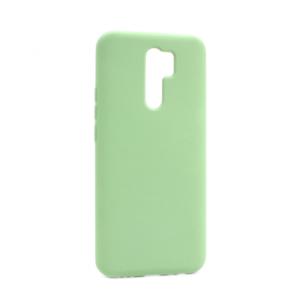 Maska Nano Silikon za Xiaomi Redmi 9 svetlo zelena