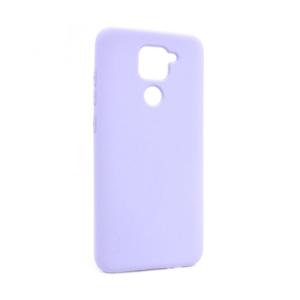 Maska Nano Silikon za Xiaomi Redmi Note 9 ljubicasta
