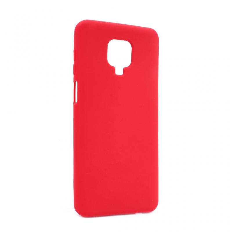 Maska Nano Silikon za Xiaomi Redmi Note 9 Pro/Note 9 Pro Max/Note 9S crvena