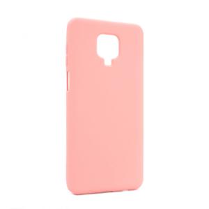 Maska Nano Silikon za Xiaomi Redmi Note 9 Pro/Note 9 Pro Max/Note 9S svetlo roze
