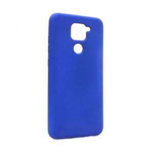 Maska Nano Silikon za Xiaomi Redmi Note 9 tamno plava
