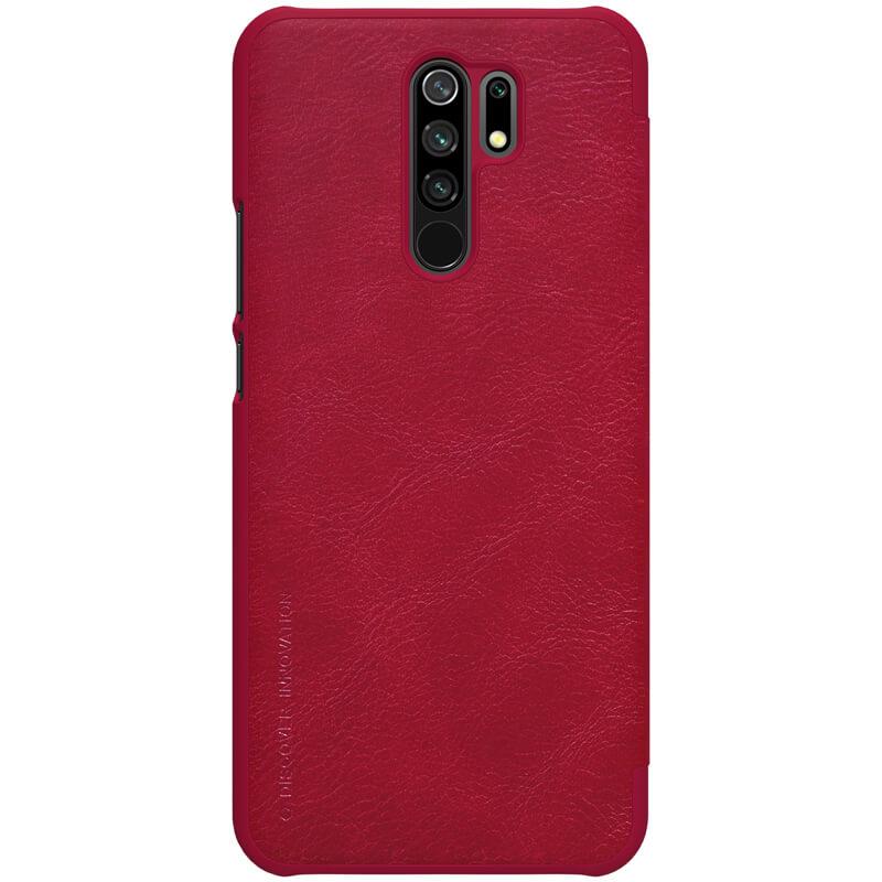 Maska Nillkin Qin za Xiaomi Redmi 9 crvena
