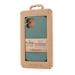 Maska Puro Biorazgradiva za iPhone 12 5.4 svetlo zelena