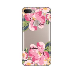 Maska Silikonska Print Skin za Alcatel 1S 2019/5024D Pink Flower