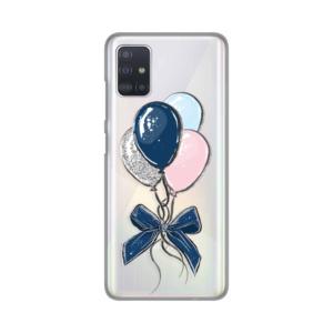 Maska Silikonska Print Skin za Samsung A515F Galaxy A51 Magick Baloons