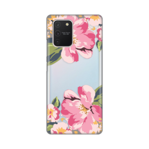 Maska Silikonska Print Skin za Samsung A915F Galaxy A91/S10 lite Pink Flower