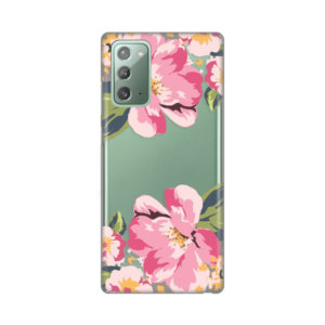 Maska Silikonska Print Skin za Samsung N980F Galaxy Note 20 Pink Flowers