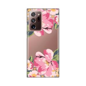 Maska Silikonska Print Skin za Samsung N985F Galaxy Note 20 Ultra Pink Flowers