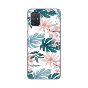 Maska Silikonska Print za Samsung A715F Galaxy A71 Tropical Desing