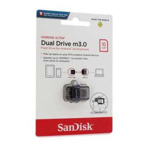 USB Flash memorija SanDisk Ultra 16GB m3.0 Grey&Silver