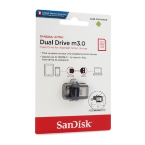 USB Flash memorija SanDisk Ultra 32GB m3.0 Grey&Silver