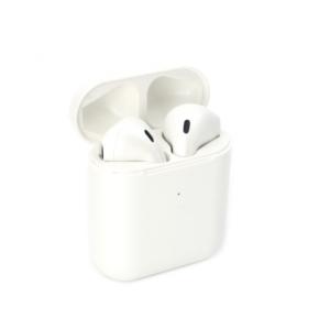 Bluetooth slusalice Airpods Inpods 900 metalik bele