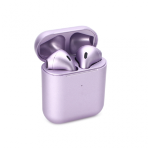 Bluetooth slusalice Airpods Inpods 900 metalik ljubicaste