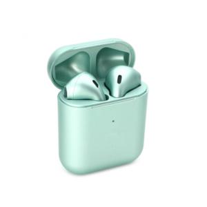 Bluetooth slusalice Airpods Inpods 900 metalik svetlo zelene