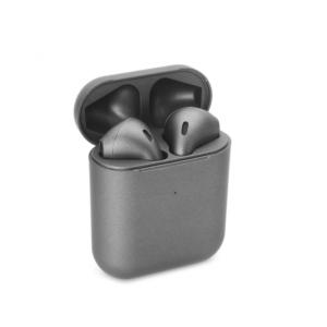 Bluetooth slusalice Airpods Inpods 900 metalik tamno sive