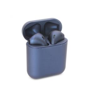 Bluetooth slusalice Airpods Inpods 900 metalik teget