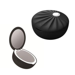 Bluetooth zvucnik EBORA sa lampom crni
