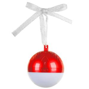 Bluetooth zvucnik novogodisnji ukras crveni