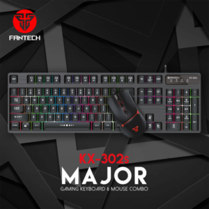 Combo mis i tastatura Fantech KX-302s Major crni