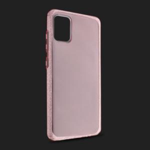 Maska Crystal Cut za Samsung A515F Galaxy A51 roze