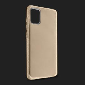 Maska Crystal Cut za Samsung A515F Galaxy A51 zlatna