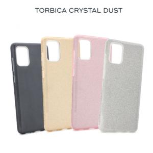 Maska Crystal Dust za Xiaomi Redmi Note 9 Pro/Note 9 Pro Max/Note 9S srebrna