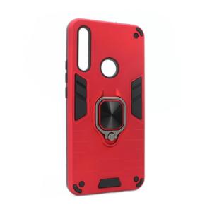 Maska Cube Ring za Huawei P Smart Z/Y9 Prime 2019/Honor 9X (EU) crvena