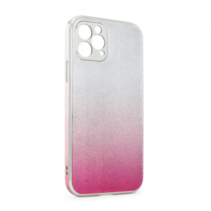 Maska Glass Glitter za iPhone 12 Max/Pro 6.1 pink
