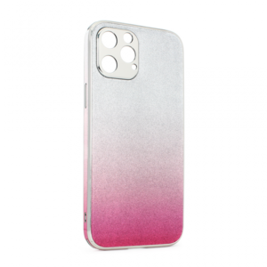 Maska Glass Glitter za iPhone 12 Pro Max 6.7 pink