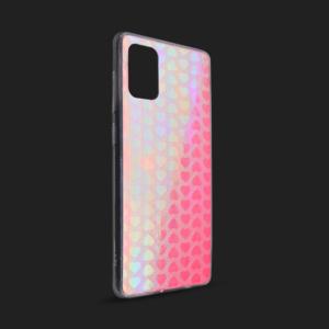 Maska Pattern Heart za Samsung A515F Galaxy A51 pink