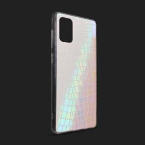 Maska Pattern Square za Samsung A515F Galaxy A51 bela