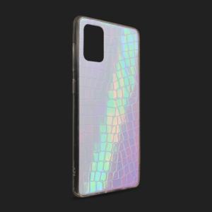 Maska Pattern Square za Samsung A515F Galaxy A51 ljubicasta