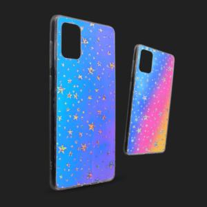 Maska Pattern Star za Samsung A515F Galaxy A51 plava