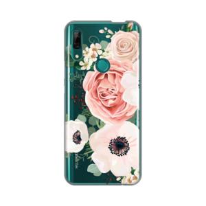 Maska Silikonska Print Skin za Huawei P smart Z/Y9 Prime 2019/Honor 9X (EU) Luxury Pink Flowers