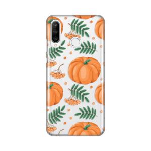 Maska Silikonska Print Skin za Huawei P30 lite Pumpkins