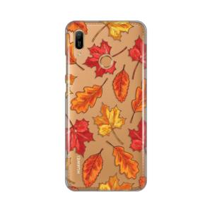 Maska Silikonska Print Skin za Huawei Y6 2019/Honor 8A Falling Autumn Leaves