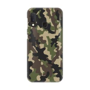 Maska Silikonska Print Skin za Samsung A202F Galaxy A20e Army SMB