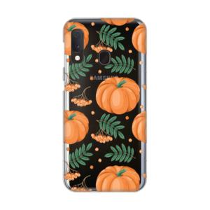 Maska Silikonska Print Skin za Samsung A202F Galaxy A20e Pumpkins