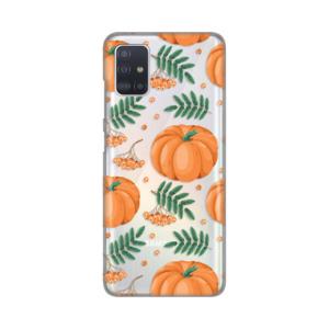 Maska Silikonska Print Skin za Samsung A515F Galaxy A51 Pumpkins